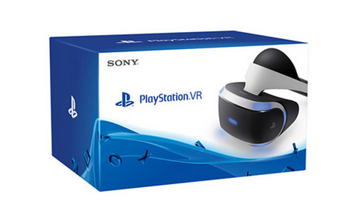 Playstation VR packaging