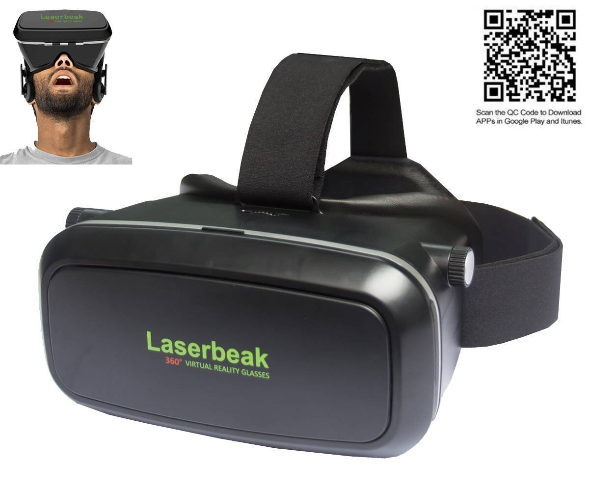 Test du Laserbeak VR Box 3