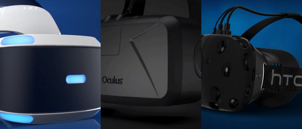 Comparatif technique des casques VR 2016